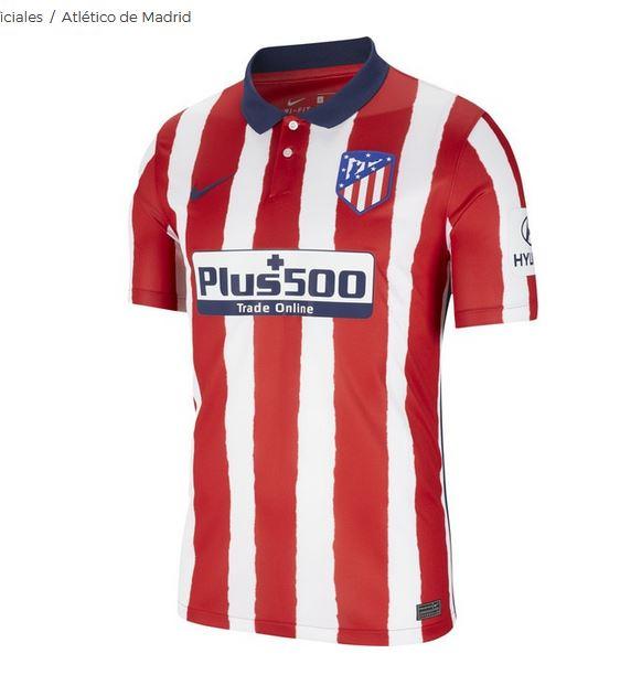 Camiseta del campeón de Liga Atletico de Madrid 2021