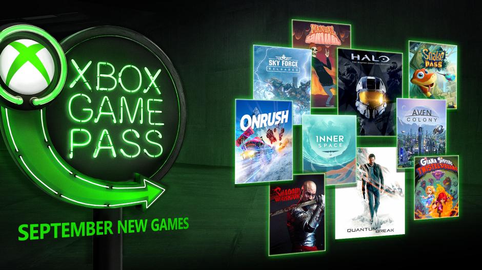 Juegos de Game Pass Septiembre
