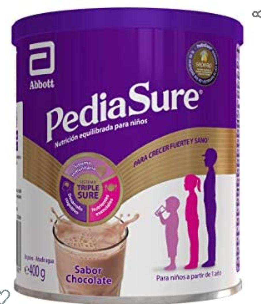 PediaSure Complemento Alimenticio para Niños, Sabor Chocolate, con Proteínas, Vitaminas y Minerales - 400 gr