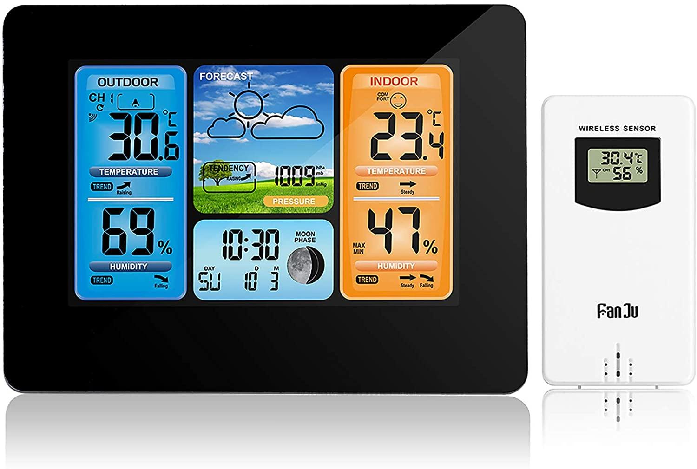 Estación Meteorológica sensor exterior solo 8.8€