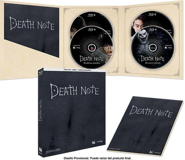 Death Note La trilogía (DVD)