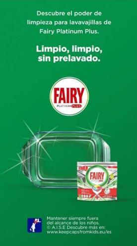 Descuento 4 € al comprar Fairy platinum plus