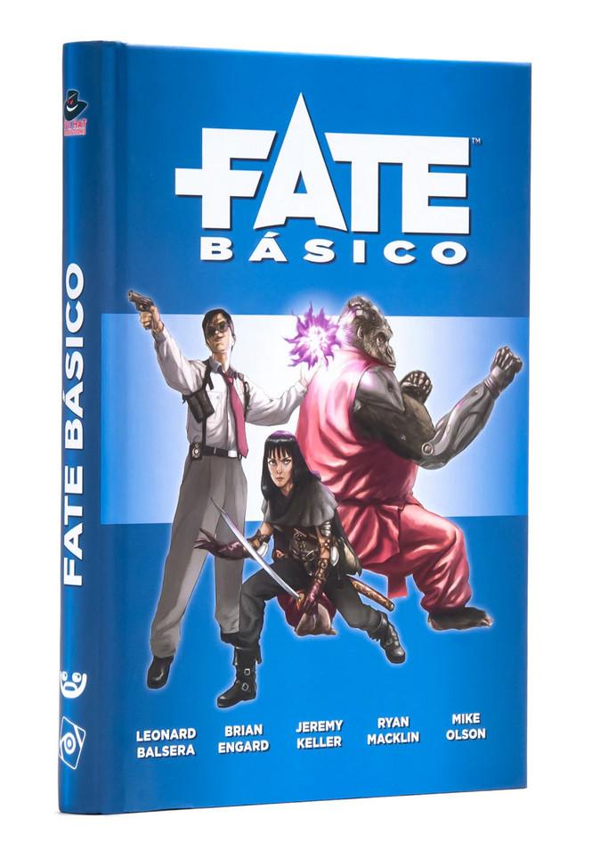 Juego de Rol Fate Básico (Tapa dura) por sólo 12,50€