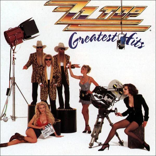 CD ZZ TOP Greatest Hits (rock & roll)