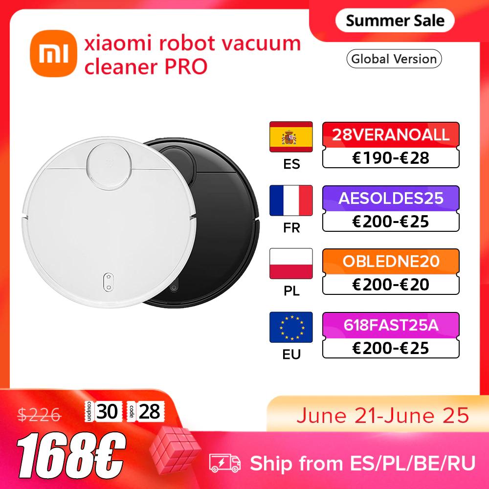 Xiaomi Mi Robot Vacuum Cleaner PRO LDS - Desde España