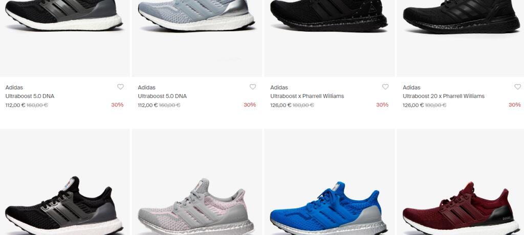 Recopilación de descuentos en zapatillas Adidas ultraboost