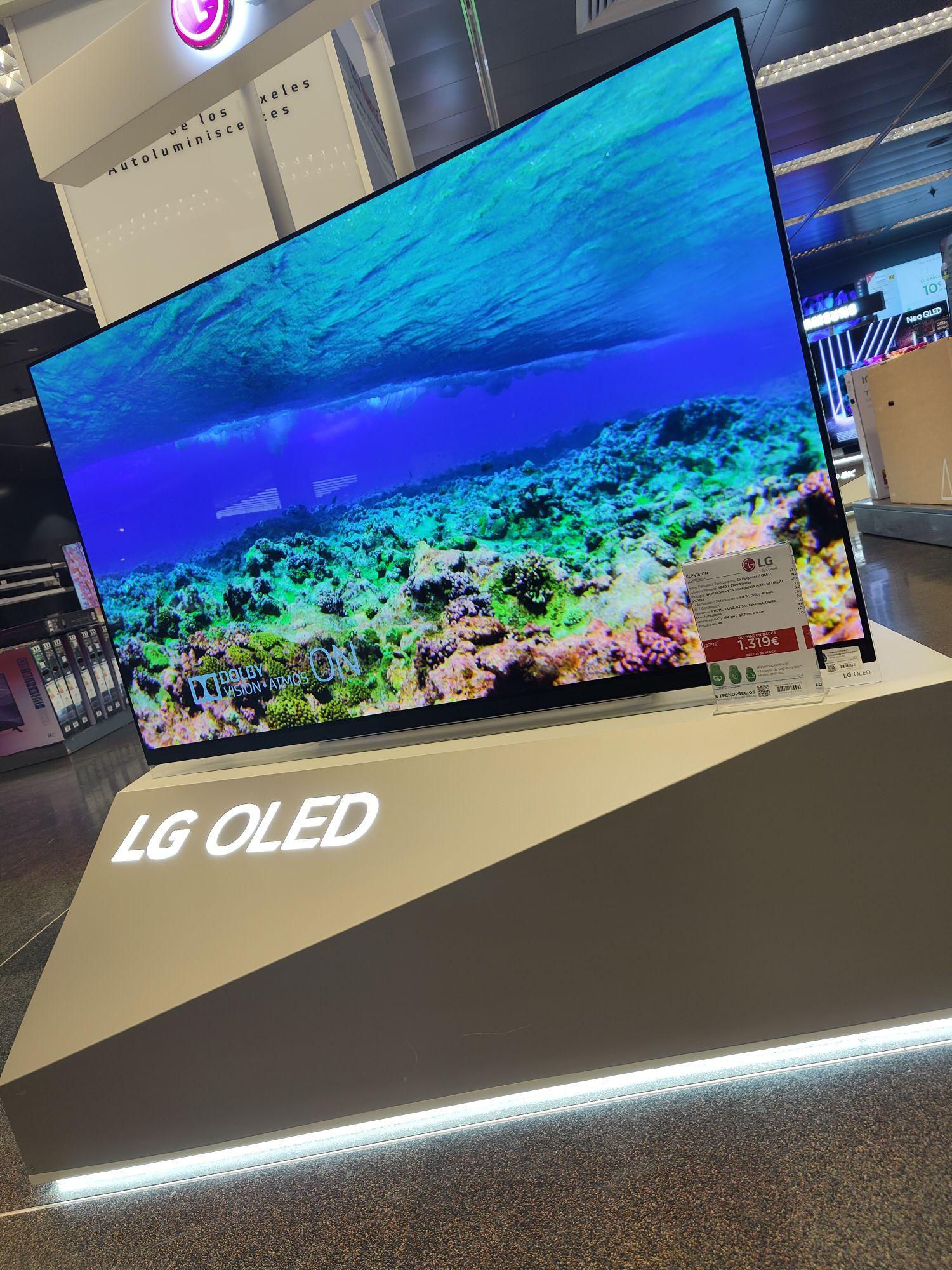 Tienda el corte inglés Granada LG OLED TV 4K, 164cm/65''