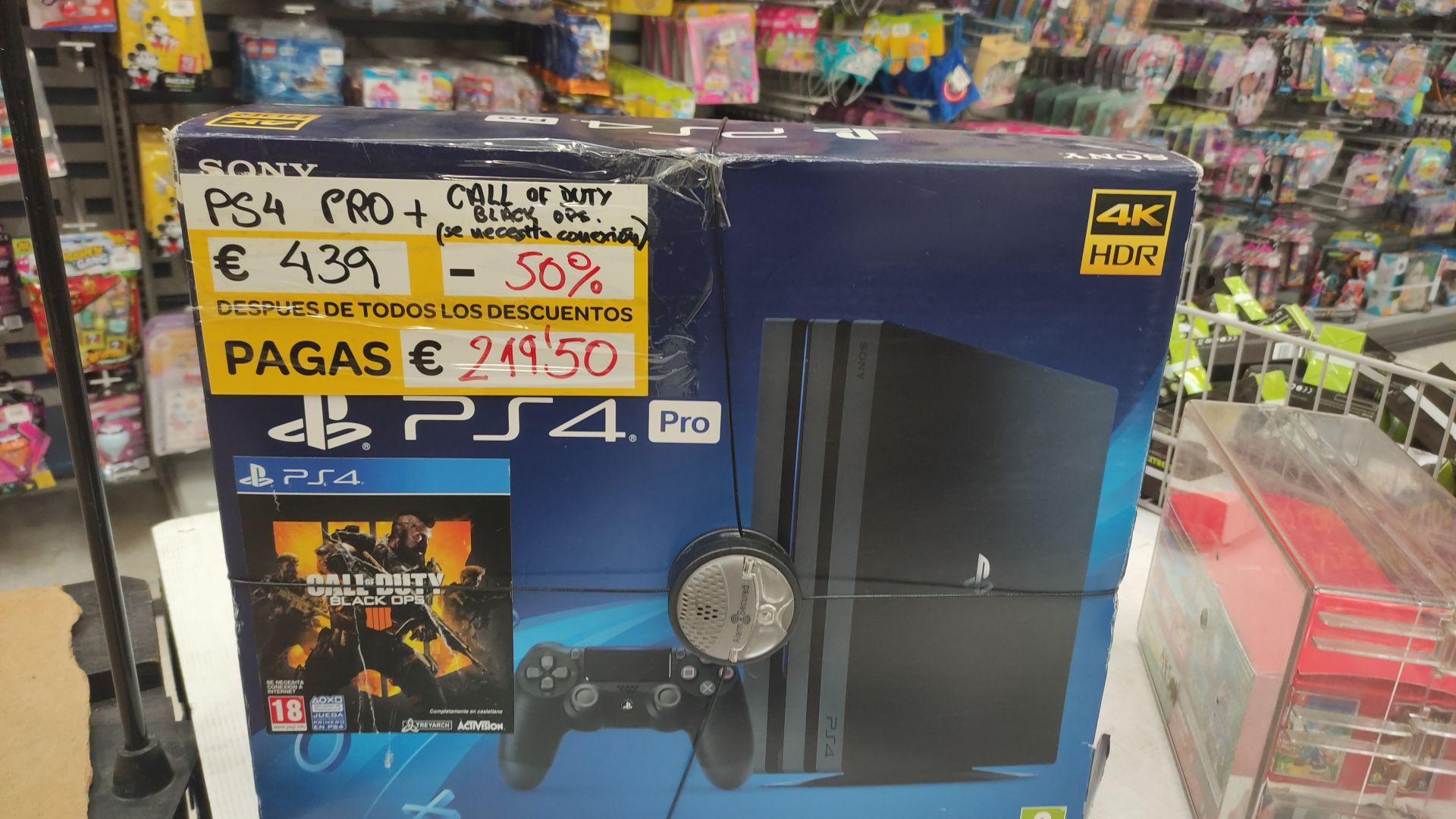 Ps4 PRO + COD en Carrefour Los Rosales (A Coruña)