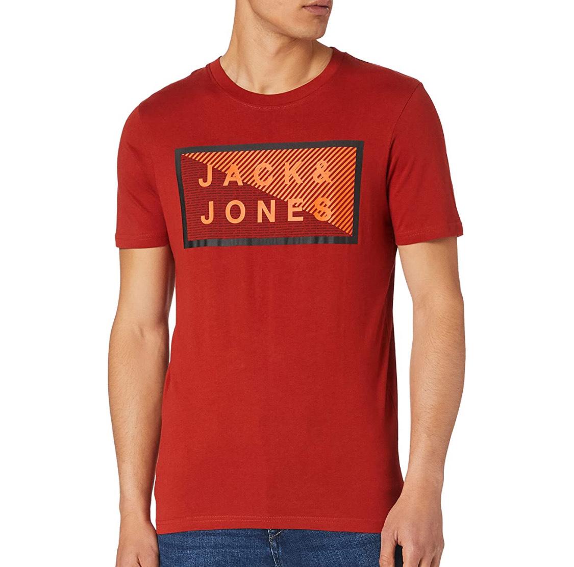 Camiseta entallada Jack & Jones hombre talla XL.