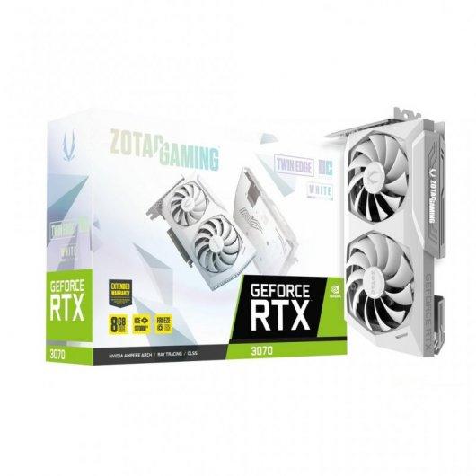 Zotac Gaming Geforce RTX 3070 Twin Edge OC LHR White Edition 8GB GDDR6