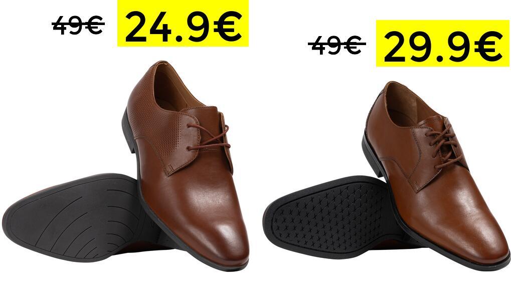 Zapatos Clarks Bampton Derby 24.9€ y Gilman Lace 29.9€