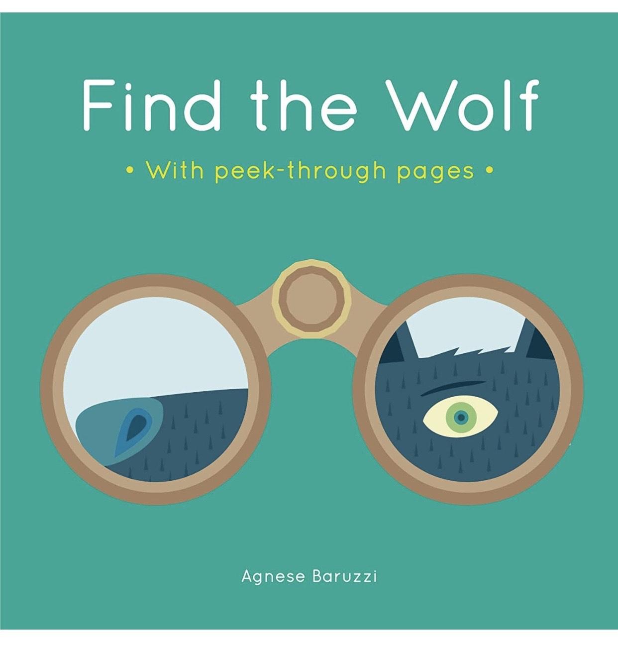 "Libro infantil ""Find the Wolf"""