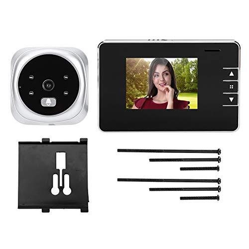 Timbre de cámara de video con luz de fondo con Pantalla LCD TFT de 2.8 Pulgadas.