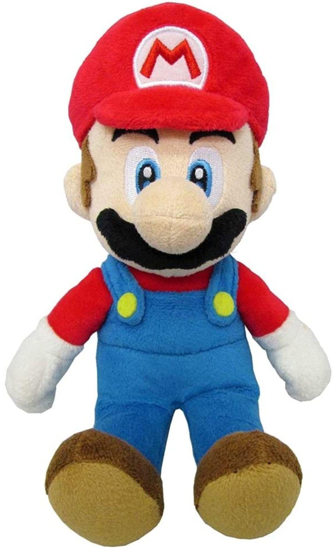 Peluche Mario con licencia oficial de Nintendo, 20 cm