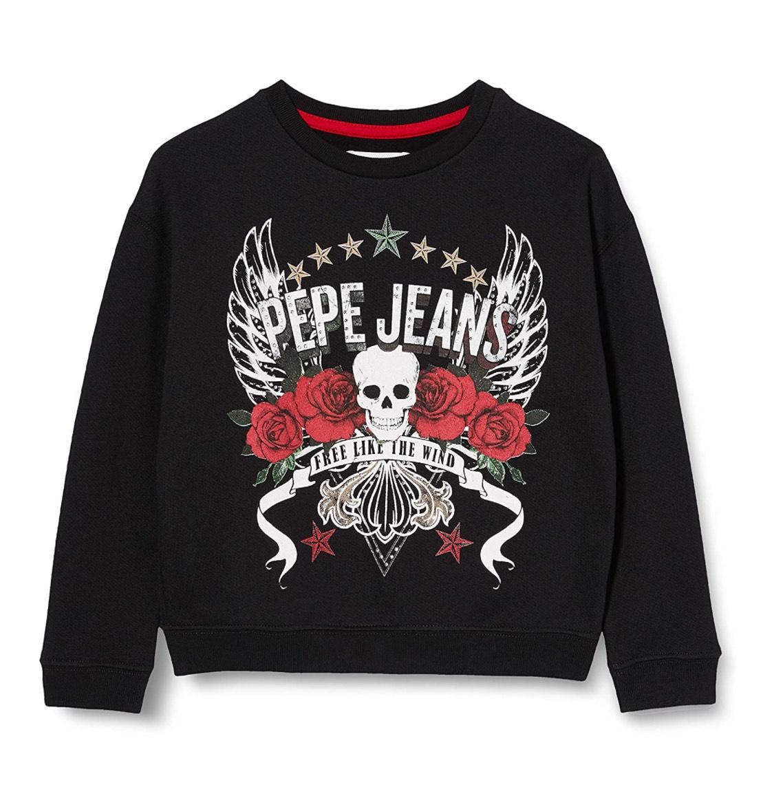 Suéter cañero Pepe Jeans infantil talla 6 años.