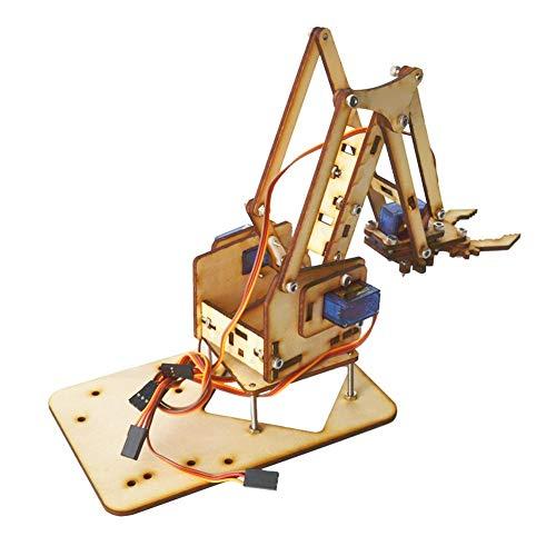 Kit de montaje de bricolaje de brazo robótico.