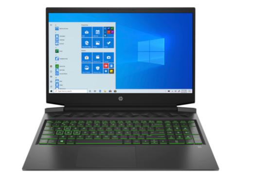 Portátil Gaming HP Pavilion 16-a0000ns, i5, 8GB, 512GB SSD, GeForce GTX 1650 4GB
