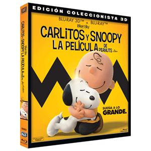 Carlitos y Snoopy la pelicula de Peanuts 3D + 2D