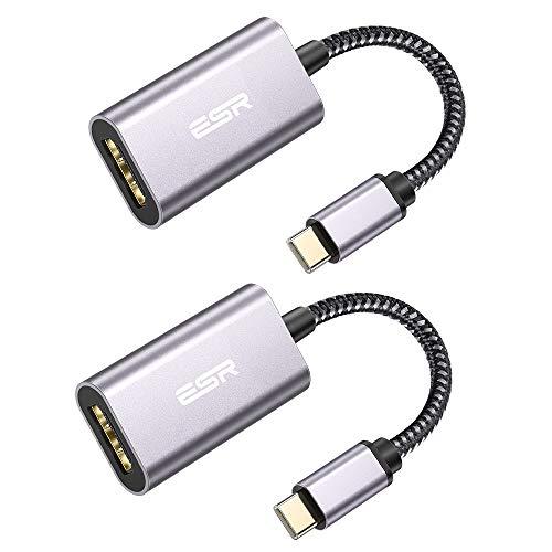 2 adaptadores USB-C a HDMI