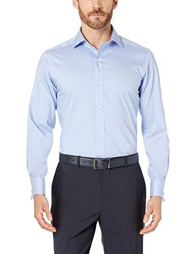 "Camisa algodón azul claro talla XL (17"" Neck 36"" Sleeve )"