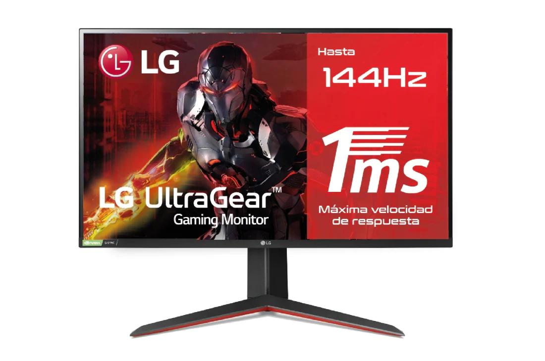 "Monitor LG 27"" IPS 1440p 144hz 27GN850-B + LG PURICARE AIR"