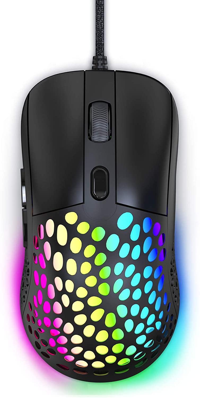 Ratón RGB hasta 6400 DPI solo 5.6€