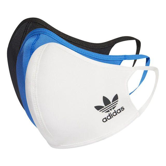 Mascarillas higiénicas Adidas, Pack de 3