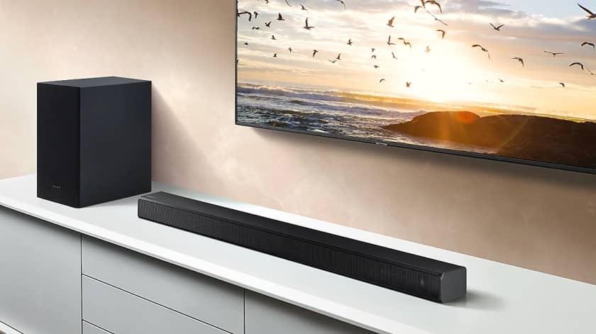 Barra de sonido Samsung Hw-t50 por 134€ -leer descripcion.