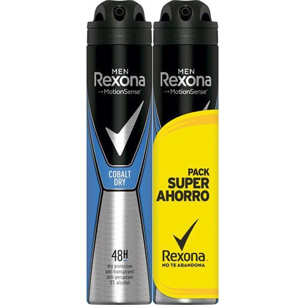 Cobalt Dry Men Duplo | 2UD Pack desodorantes para hombre