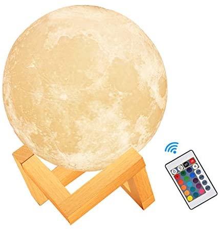 Lámpara de Luna 3D GRATIS