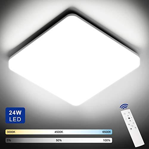 Plafon LED Techo Regulable 24W con Mando a Distancia