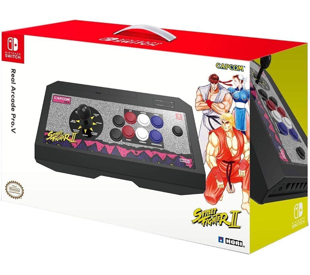 Arcade Pro V Street Fighter II - HORI (Switch/PC)