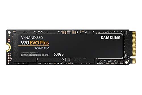 Samsung MZ-V7S500BW 970 EVO Plus - Unidad SSD, 500 GB, M.2, NVMe