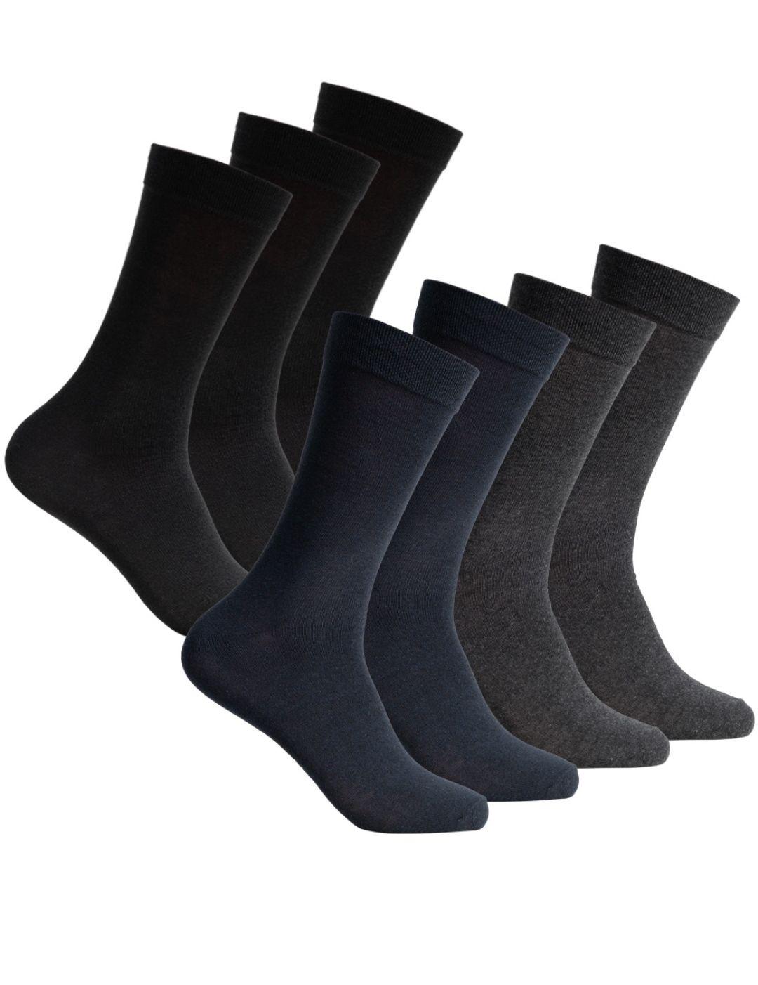 SportSpar Hombre Calcetines clásicos 7 pares