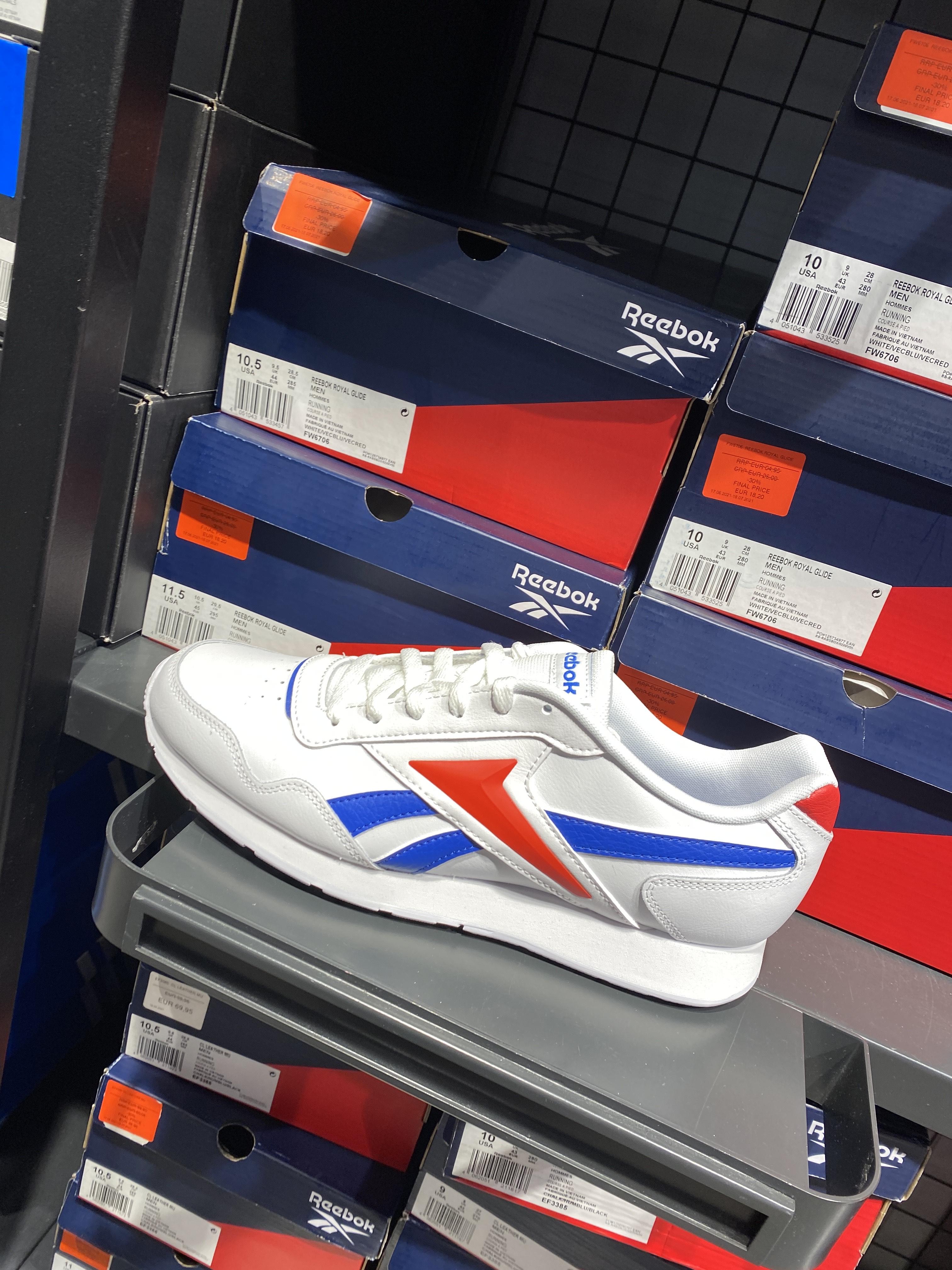 Reebok Royal Glide en el outlet de Adidas de Viladecans