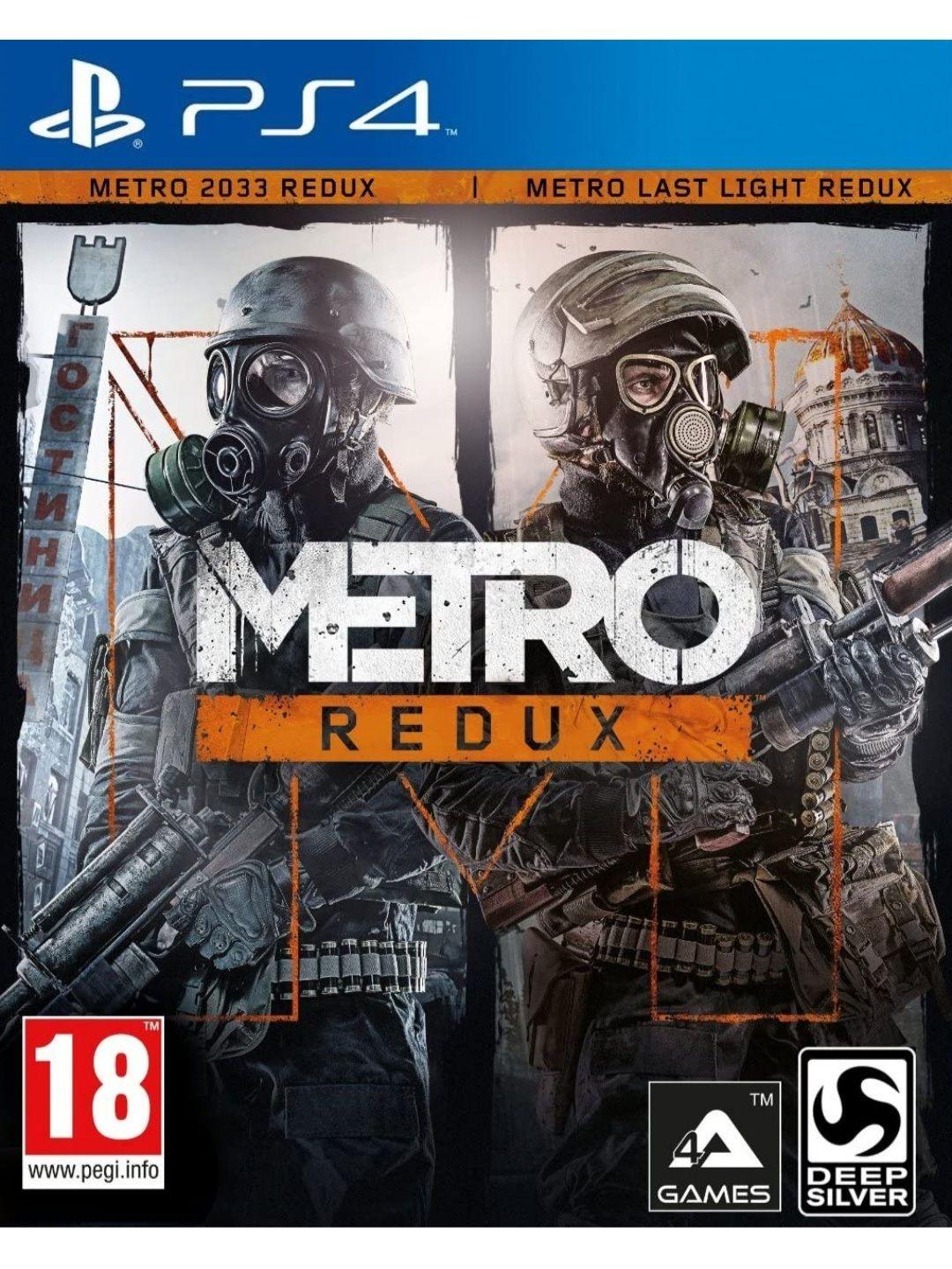 Metro Redux Double Pack (2033 + Last Light) - PS4