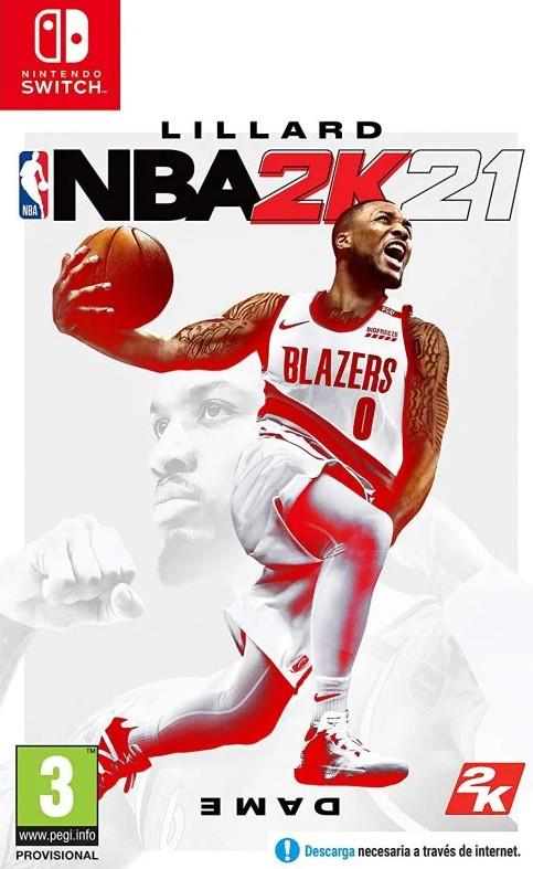 NINTENDO SWITCH y Xbox One: NBA 2K21 (juego físico)
