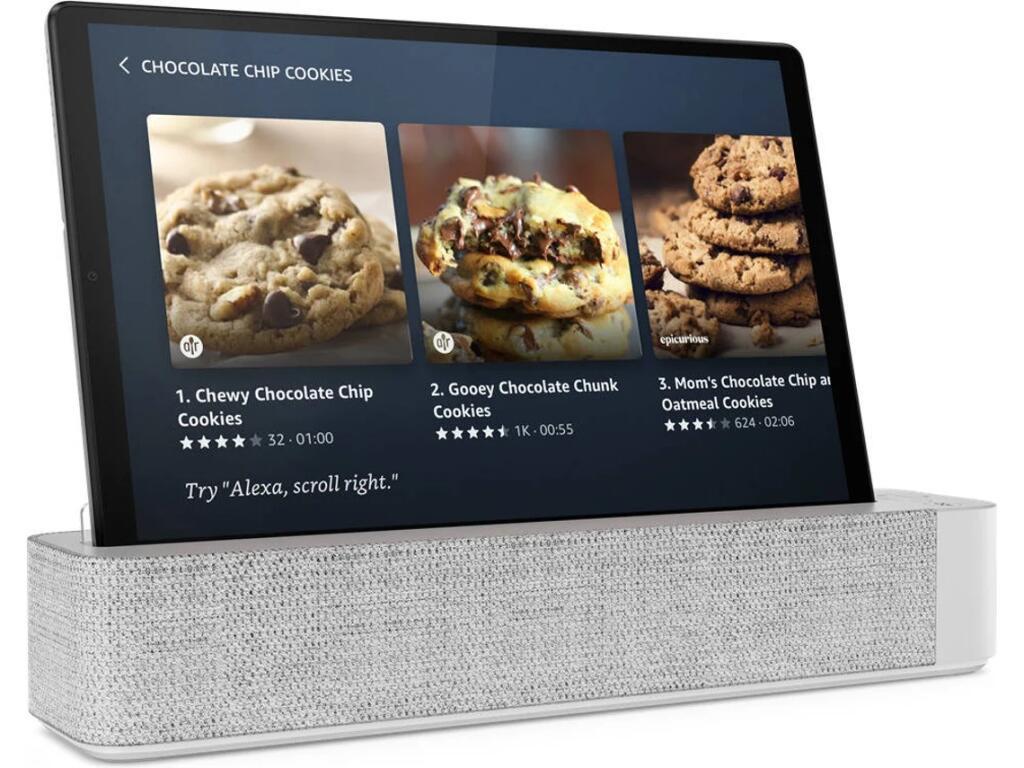 Tablet LENOVO M10 HD (10.1'' - 64 GB - 4 GB RAM - Wi-Fi - Alexa integrado - Gris)