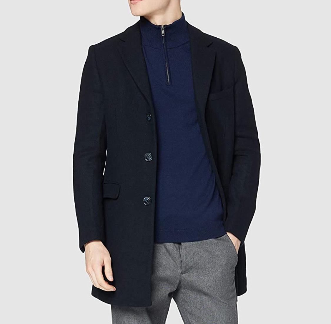 Abrigo azul hombre talla XXL (negro a 22.80€)