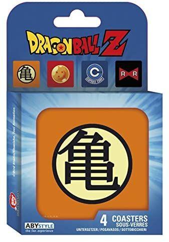 Dragon Ball Set 4 Posavasos