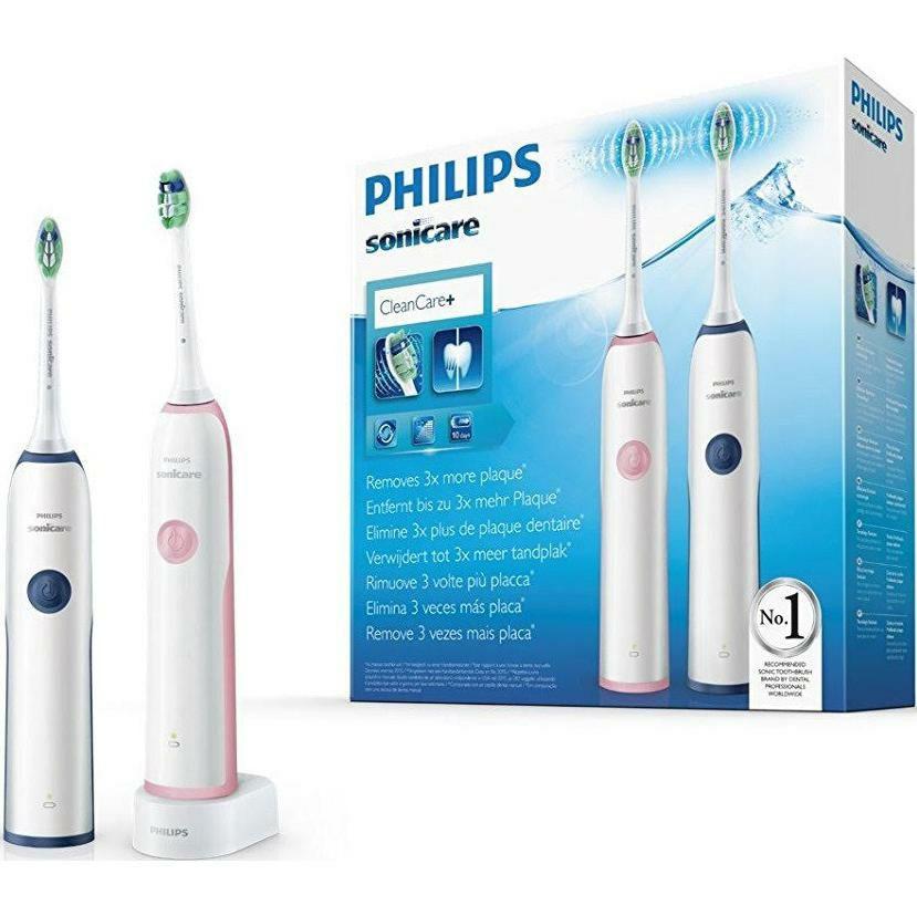 Pack Duo Cepillo Dental Eléctrico Philips Sonicare Cleancare