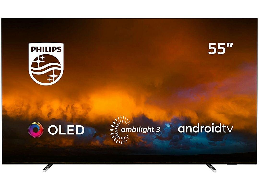 Philips 55OLED804/12 Televisor Smart TV OLED 4K UHD, 55 pulgadas