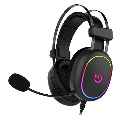 Hiditec   Auricular Gaming argb con Cable