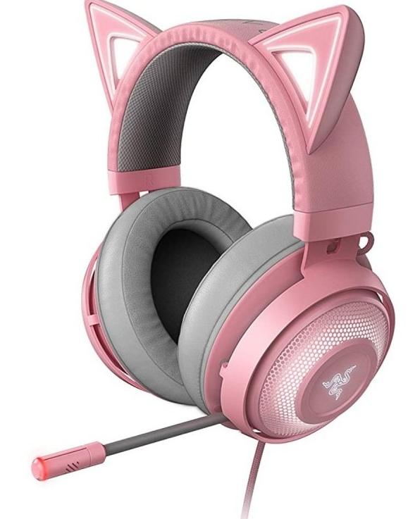 Razer Kraken Kitty Edition Auriculares Gaming Rosa