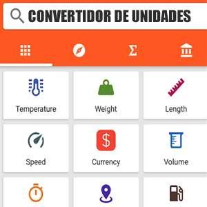 Convertidor de unidades PRO (Android)