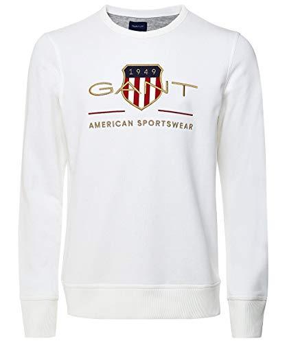 Sudadera Gant Blanca tallaS- L-XL-XXL-4XL-5XL-XS