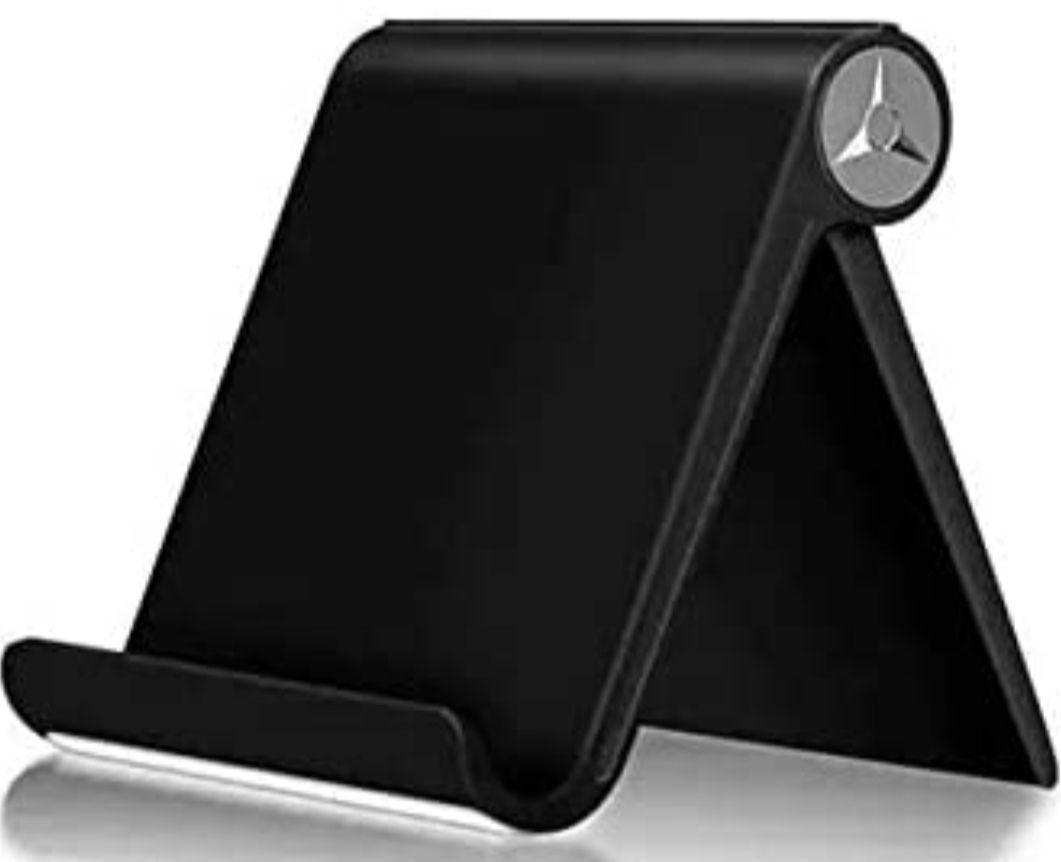 Soporte Ajustable para móvil, Tablet... (Blanco o Negro)