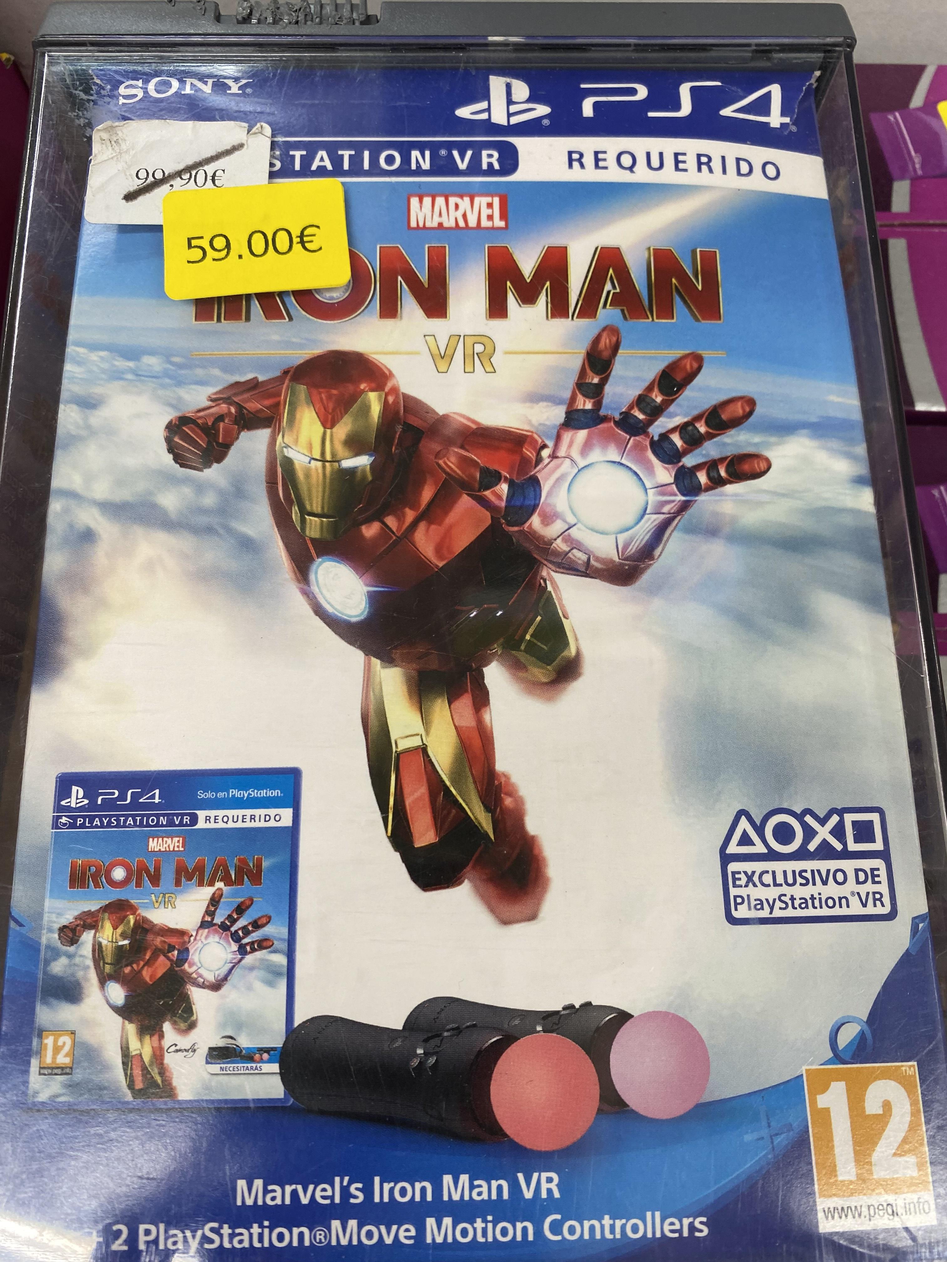 Marvel's Iron Man VR PS4 + 2 MOVE