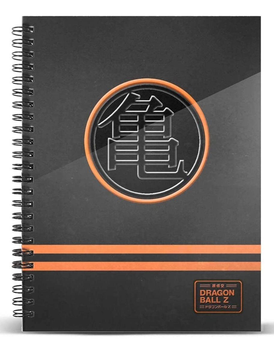 Dragon Ball - Cuaderno Papel Cuadriculado DIN A4 tapa dura