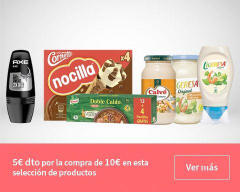 Ahorra hasta 30 euros si haces la compra online